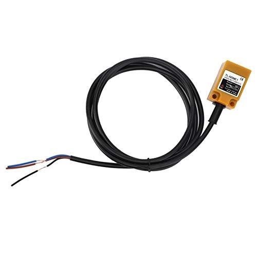 Interruptor de sensor de proximidad Bobina de cobre puro incorporado Interruptor de sensor de proximidad de 3 cables Carcasa de ABS resistente al calor para puertas automáticas para
