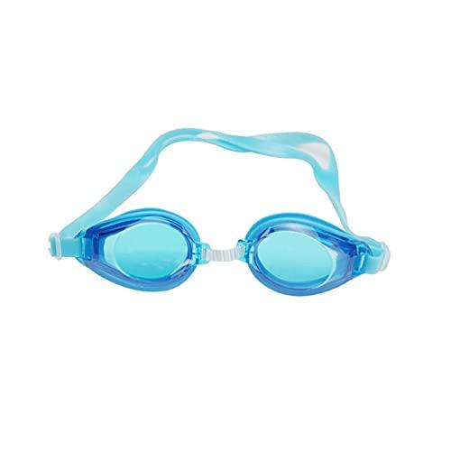 Hombres Mujeres Adulto Natación Conjunto Marco Piscina Deporte Gafas Gafas Impermeable Gafas Gafas Gafas Gel De Sílice (Color : Sky Blue)