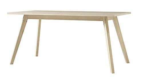 Germania 4057-177 Tisch im skandinavischen Design GW-Oslo in Sanremo-Eiche-Nachbildung, 160 x 75 x 80 cm (BxHxT)