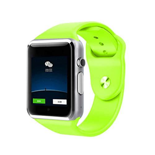 LIUJING Kinderen Smart Horloge Digitale Camera Horloge met GPS positionering, Muziekspeler, Stappenteller Tellen, Kaartbare Bluetooth Telefoon Horloge, 1,5 inch Touch LCD, size, Groen