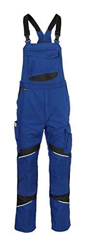 KÜBLER Workwear KÜBLER ACTIVIQ Cotton+ Arbeitslatzhose blau, Größe 28, Herren-Arbeitslatzhose aus verstärkter Baumwolle, robuste Arbeitslatzhose