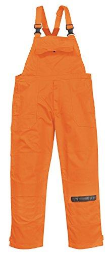 PORTWEST BIZ4 - Bizweld Arbeitslatzhose, 1 Stück, XL, orange, BIZ4orangeXL