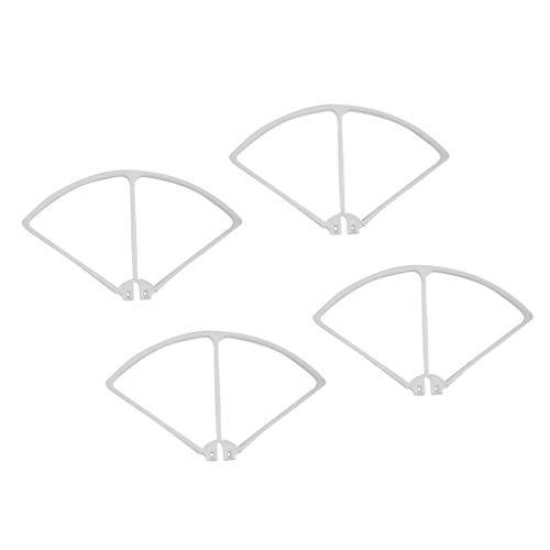 zmigrapddn Set di Protezioni paraurti per elica Drone per quadricottero RC Syma X8C X8W X8G X8HW, 5 Colori tra Cui Scegliere, Accessori di Ricambio RC ( Color : White )