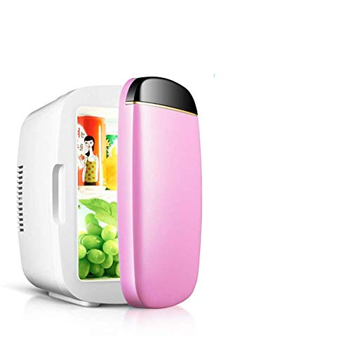 AYDQC Refrigerador de automóviles, 6 litros Compact-Refrigeradores Coche Dual Mini Frigorífico Inicio Mini Micro refrigerador Frigorífico portátil-A 31x25x19cm (12x10x7inch) fengong
