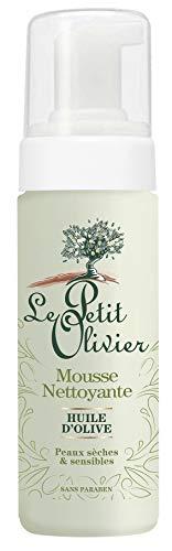 Le Petit Olivier Gesichtspflege – Reinigungsschaum für das Gesicht mit Olivenöl, 150°ml