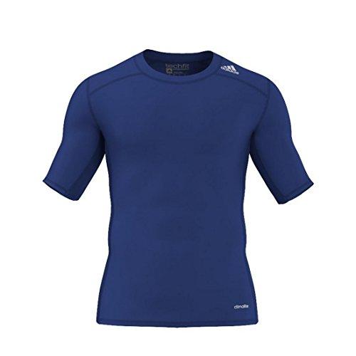 adidas Herren Training Techfit Base T-Shirt, Collegiate Royal, XL