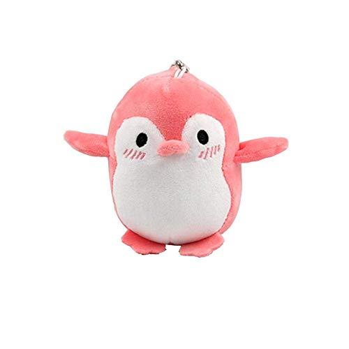 XIAN Gästehung Plüschspielzeug Netter Pinguin Rucksack Plüsch Anhänger Tier Weiche Spielzeug Weihnachten Geburtstagsgeschenkdekoration 12 cm hailing