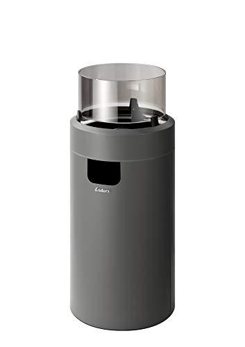 Enders® Nova LED M Feuerstelle, Grau/Schwarz, 88
