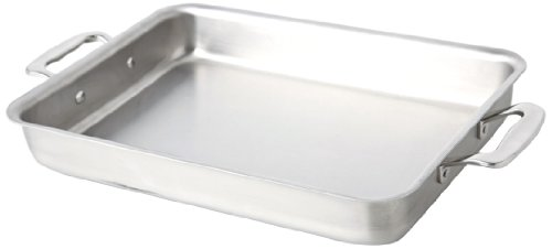 360 Stainless Steel Baking Pan 9x13, Handcrafted in the USA, 5 Ply, Surgical Grade Stainless Bakeware, Professional Grade Casserole Dish, Roasting Pan (9x13 Bake and Roast Pan)