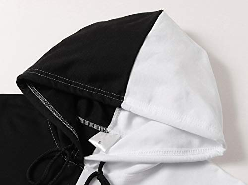 MINIDORA Attack on Titan Hoodie for Men/Women AOT Cosplay Sweatshirt Ackerman Hooded Pullover - Black - M