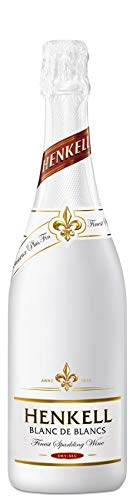 Henkell Blanc de Blancs Sekt, Trocken, 11,5% Alkohol (1 x 0,75 l Flaschen) – Cuvée aus weißen Rebsorten, darunter Chardonnay