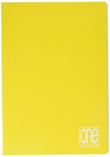 Blasetti Maxi One Color, Quaderno Formato A4, Rigatura 1R, Righe per Medie e Superiori, Carta 80g/mq, Pacco da 10 Pezzi