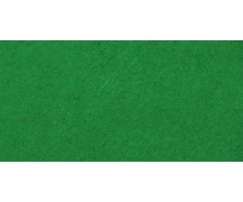 woolove Fogli Feltro 3mm Verde Natale grandezza 1 Metro x 50 cm