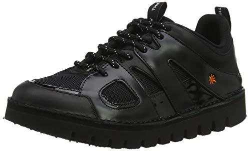 Art Ontario, Zapatos de Cordones Brogue Unisex Adulto, Negro (Black Black), 38 EU