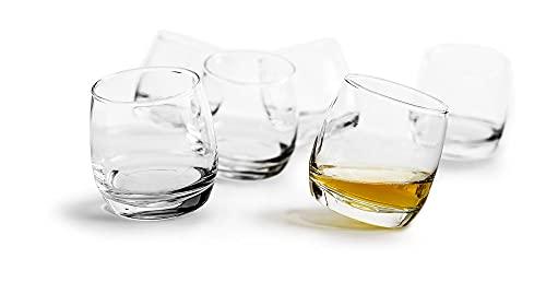 SAGAFORM Bar Rocking Whisky Gläser Set