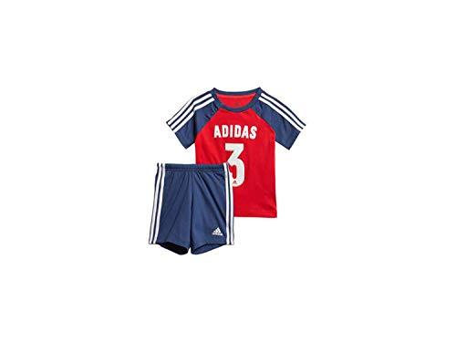 adidas Kinder I Sport Sum Anzug, Vivred/Tecind/White, 62