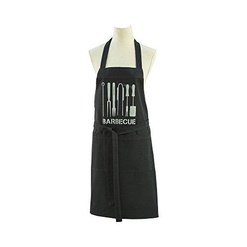 Coucke - Barbecue - Tablier Noir Coton