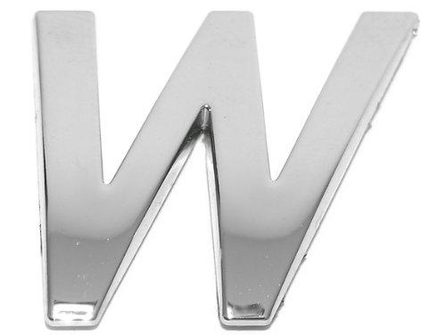 Eufab 30333 3d-letter W Car-logo