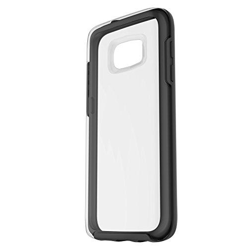Otterbox Symmetry Clear - Funda para Samsung Galaxy S7, Color Negro Cristal