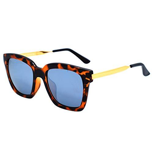 Ossat Square Polarized Classic Glasses Retro Polarized Sunglasses Retro Su Square Polarized Classic Glasses Retro Polarized Sunglasses Retro Super Largeper Large Men and Women Protective Glasses UV400