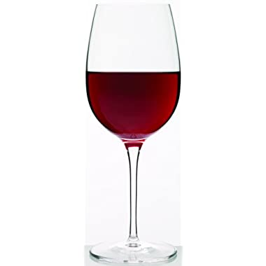 Luigi Bormioli Crescendo 20-Ounce Bordeaux Wine Glasses, Set of 4