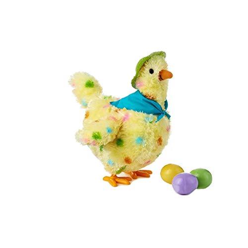 WJTMY Plüschtiere, eine Henne Wer kann Eier Legen, elektrische Singen und Tanzen...