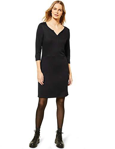 Cecil Damen 142776 Kleid, Black, XL