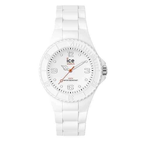 ICE-WATCH - ICE generation White forever - Weiße Damenuhr mit Silikonarmband - 019138 (Small)