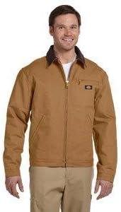Dickies Men's Rigid Duck Blanket Lined Jacket Big-Tall