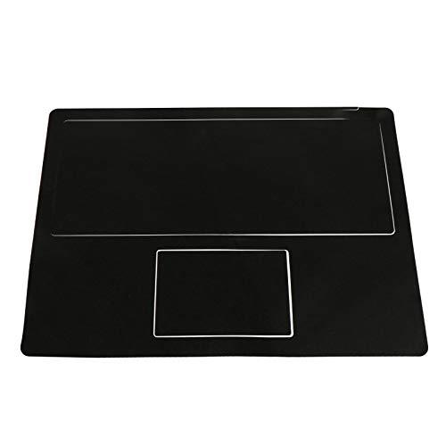 Capa protetora de teclado Uonlytech para laptop e teclado com adesivo para descanso de mãos compatível com Microsoft Surface Laptop 2 preto