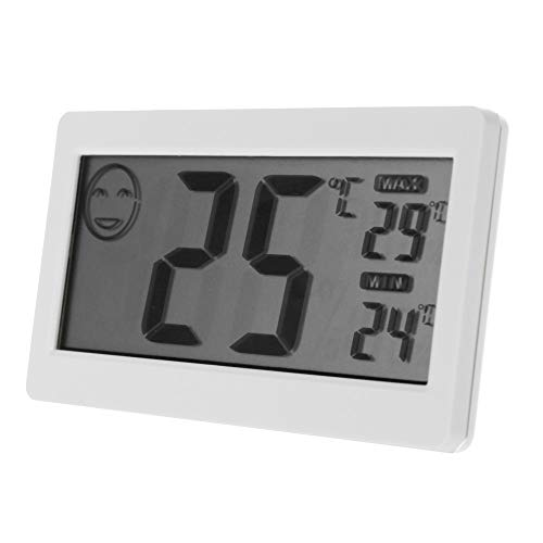 Ogquaton 3,3 'LCD Mini Digital Thermometer Hygrometer Temperatur-Feuchtemessgerät Langlebig und nützlich