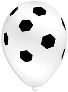 BWS Paquete de 100 Globos con balón de fútbol de 12