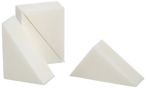 Beauty Is Life Set di spugnette in lattice triangolari - 4 pezzi