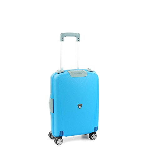 RONCATO Light trolley cabina rigido 4 ruote tsa Azzurro