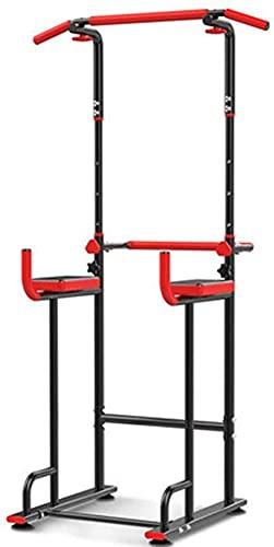 Tire hacia arriba y la estación de inmersión, la estación de torre de potencia ajustable de altura, la barra horizontal de entrenamiento de la fuerza de la barra de la barra, la carga máxima de 120 kg