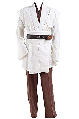 Tollstore Kostüme Obi Wan Kenobi Kostüm Jedi Kostüme für Erwachsene Ohne Umhang Herren XXL