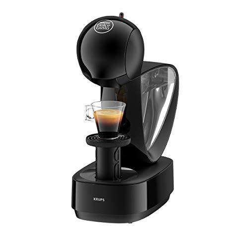 Krups Nescafé Dolce Gusto Infinissima KP1708 Kapsel Kaffeemaschine (für heiße und kalte Getränke, 15 bar Pumpendruck, manuelle Wasserdosierung, 1,2 l Wassertank, Abschaltautomatik) schwarz
