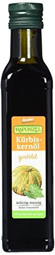 Rapunzel Kürbiskernöl geröstet, demeter, 1er Pack (1 x 250 ml) - Bio