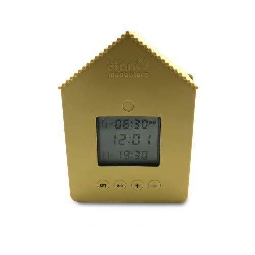 Titan Incubators Automatic Chicken House Door Opener/Closer Opens/Closes Chicken Coop Door On Timer Unit