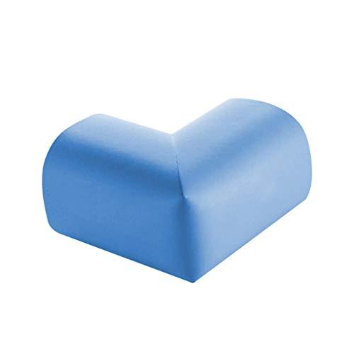 Centitenk Prueba de la Tabla del bebé de la Esquina Guardia Muebles Guardia Esponja Edge Esponja colchón de Seguridad turística Protector de la Esquina, Azul Claro, 5 Piezas