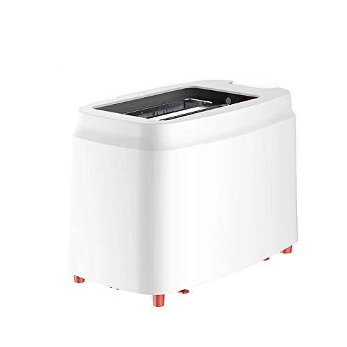 WZPG Tostadora automática para el hogar, tostadora de Ranura Ancha con Bandeja de Migas extraíbles 9 Configuración de la Sombra de Pan, protección contra Apagado Anti-seización/automática