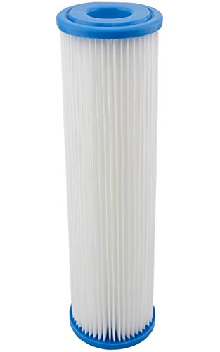 """Filtereinsatz 10\""""(251mm) Filtergehäuse Filterkartusche für Pumpenfilter Hauswasserwerke Vorfilter Wasserfilter Sandfilter Filter Membran Polypropylen Faltenfilter (1)"""