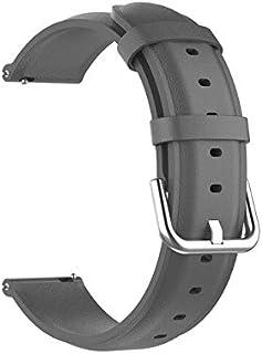 Watchbands - أحزمة جلدية لساعة Realme بسوار معصمه سوار معصمه كوريا لملحقات الساعة الذكية ريلم 20 مم (ساعة ريلم)