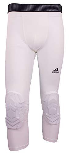 adidas WHT 3/4 - Pantalón acolchado para hombre, talla XL