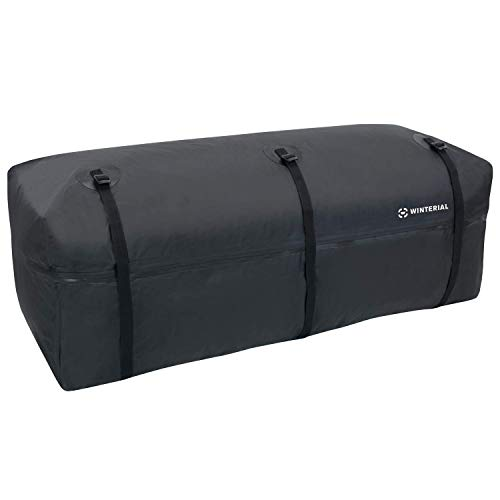 Winterial Hitch Cargo Carrier Expandable Bag 40 Inches by 18.5 Inches, Weather Resistant
