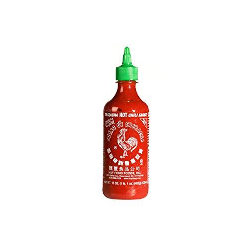 Huy Fong Sriracha Hot Chili Sauce 2 Pack 28 Oz (Net Wt 56 Fl Oz)),, ()