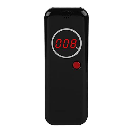 Alcoholímetro Digital, Confiable Y Duradero Detector De Alcohol De Respuesta Rápida Y Reanudación Ahorro De Energía Para Múltiples Usuarios Durante 1 Año En Espera