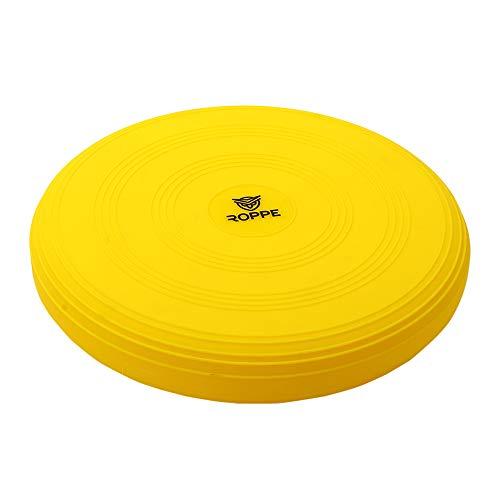 Disco De Equilibrio Inflavel Cushion 33 Cm Amarelo Roppe