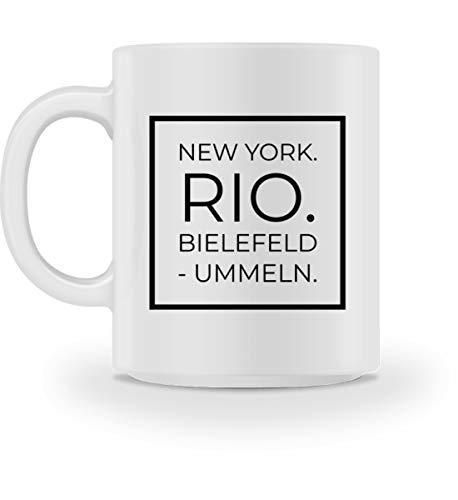 Generisch Bielefeld - Ummeln - Tasse -M-Weiß