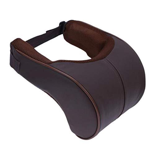 HJPOQZ Reposacabezas de Coche Reposacabezas para el Cuello Almohada Asiento Cojín de Seguridad para la Cabeza Cojín de Soporte Reposacabezas para Viaje
